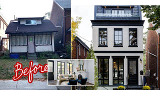This rundown house has been given a makeover