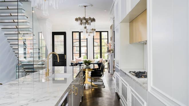 The kitchen looks amazing