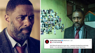 Idris Elba will return to the screen as DCI John Luther in a new Netflix film