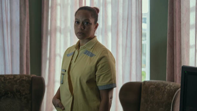 Angela Griffin plays Tori in Help