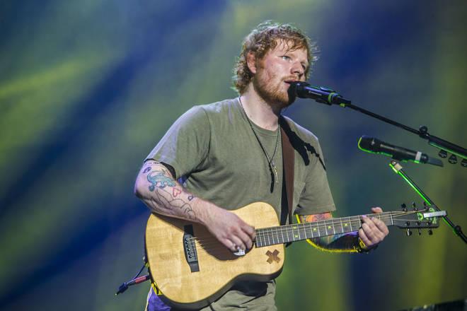 Don't miss Ed Sheeran's Mathematics Tour