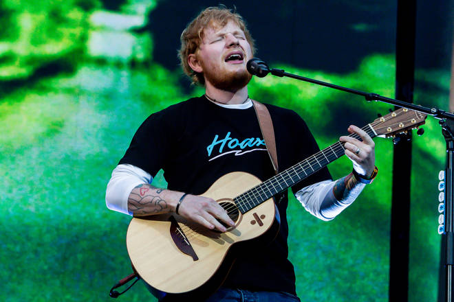 The tour will feature Ed performing 'in the round' so everyone gets a great view of him