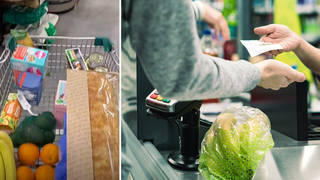 The supermarket checkout hack was shared to TikTok