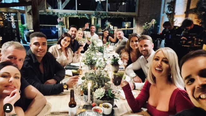 Married at First Sight contestants UK gather for a dinner party every week in a top secret location.