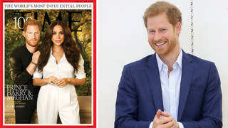 Prince Harry is taller than he appears on the cover of Time magazine