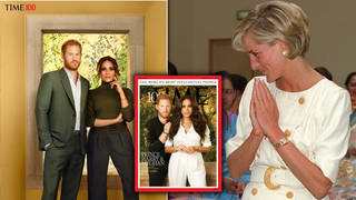 Meghan Markle and Prince Harry posed for their first magazine shoot together