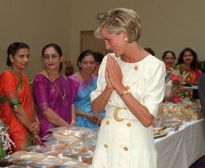 Princess Diana wore the Cartier watch a lot in the 1990s prior to her tragic death