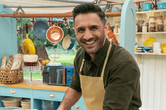 Chigs will start his Bake Off journey next week when the show kicks off