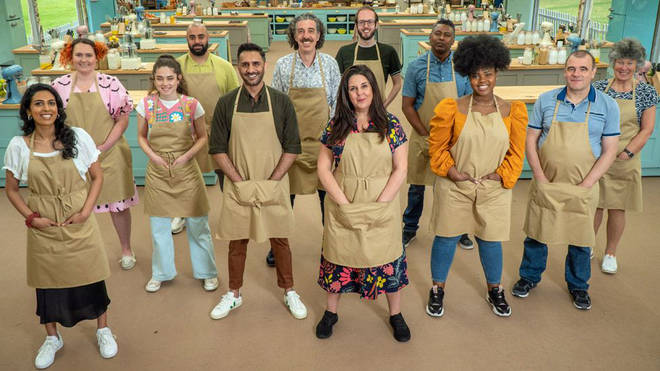 Giuseppe will be battling 11 other contestants for the title of star baker every week