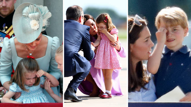 Kate Middleton is a super mum with her mischievous little ones