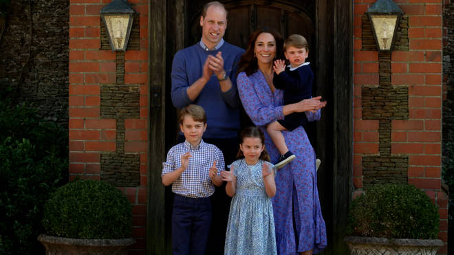 Kate and William are the proud parents to George, Charlotte and Louis