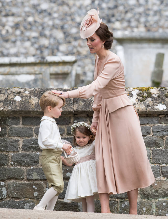 Kate Middleton is also said to have good physical communication skills with her children