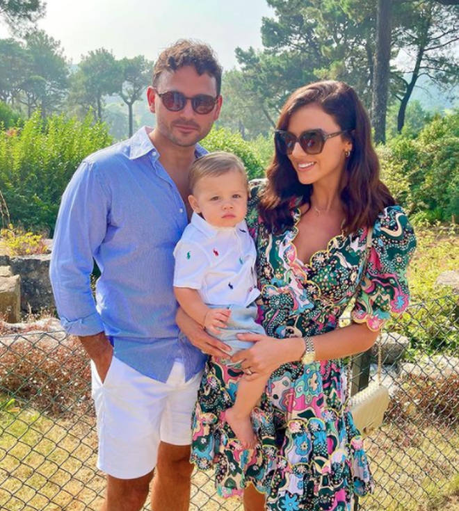 Lucy and Ryan became parents in 2020