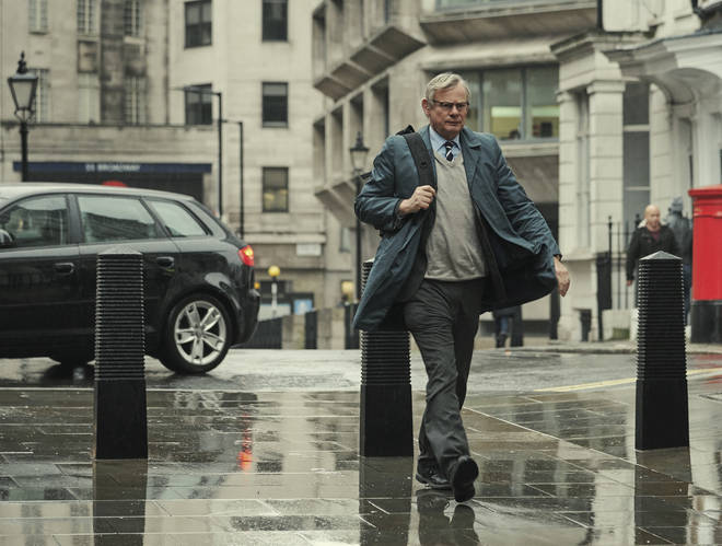Martin Clunes as Colin Sutton in Manhunt