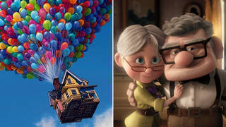 Up has officially been named the UK's favourite Pixar film