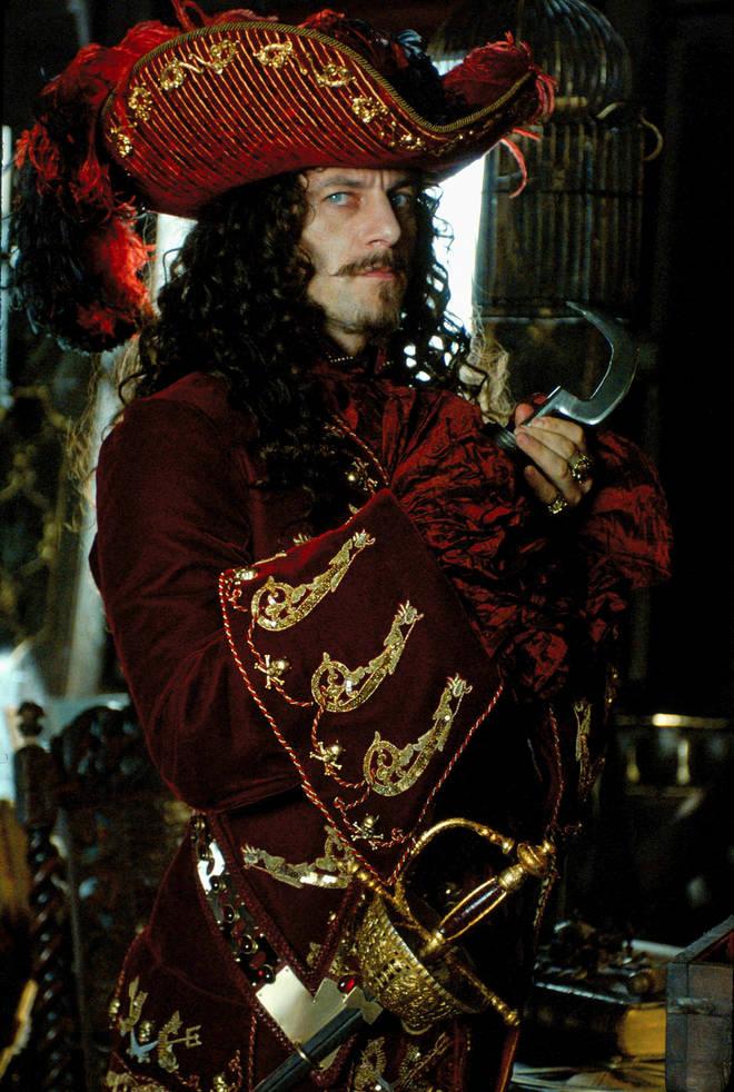 Jason played Captain Hook in Peter Pan