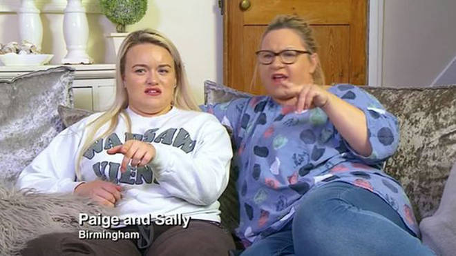Paige usually appears on Gogglebox alongside her mum Sally