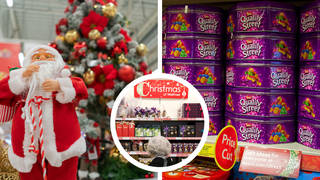 Have you noticed Christmas stock in your local supermarket?