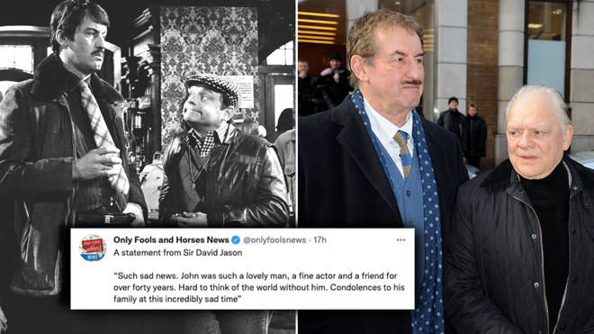 Sir David Jason has shared a message of remembrance for his co-star and friend John Challis