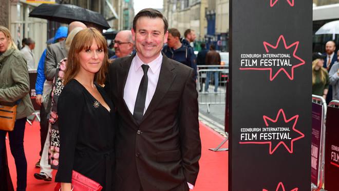 Graeme Hawley and his wife Elianne Byrne