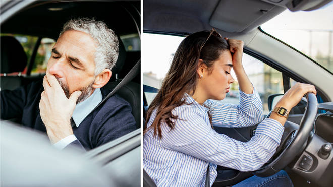 Drivers that get into their cars while tired are at risk of causing a serious accident
