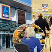 Aldi is trialling it's first checkout free store in the UK