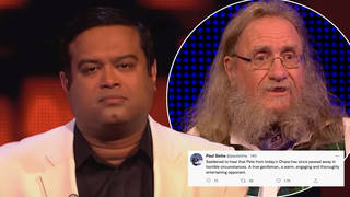 Paul Sinha paid tribute to a The Chase contestant