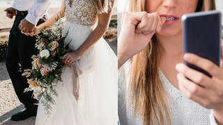 A woman has invoiced a bride after her wedding