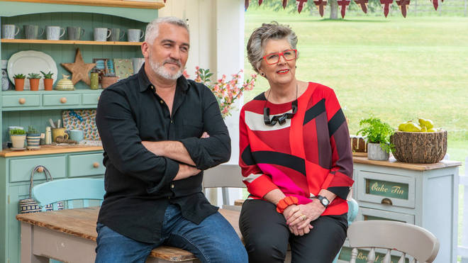 Paul and Prue are back for Cake Week on Bake Off