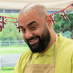 """Great British Bake Off contestant George is hoping his """"shabby-chic' vibe wins over the judges - Channel 4"""