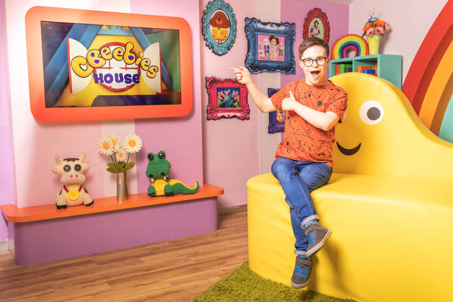 George will. be presenting from the CBeebies House
