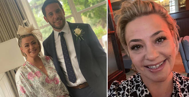 Lisa Armstrong has posed for a new picture with her boyfriend James