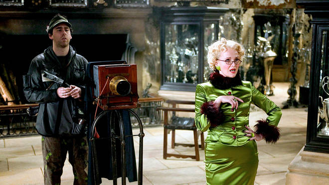 Robert had a role in the fourth Harry Potter film