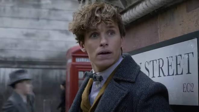 Eddie Redmayne will return as Newt Scamander in 'The Secrets of Dumbledore'