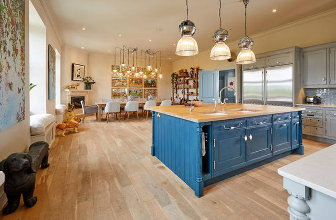 The property is on the market for £6.75million