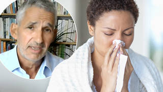 A doctor has explained new Covid symptoms