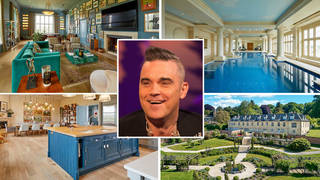 Robbie Williams' house is on the market