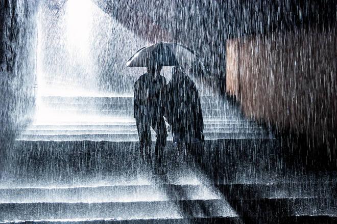 Raining storm diana