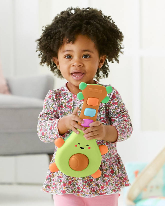 This toy is aimed at babies 6 months and up