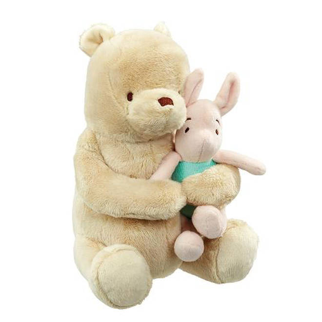 This adorable toy plays a gentle lullaby, perfect for nap times