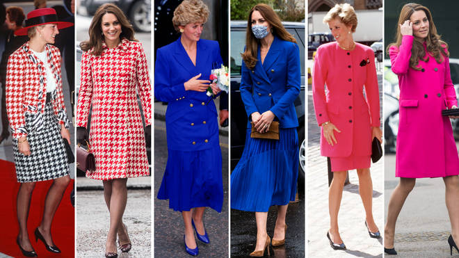 Every time Kate Middleton recreated a classic Princess Diana outfit