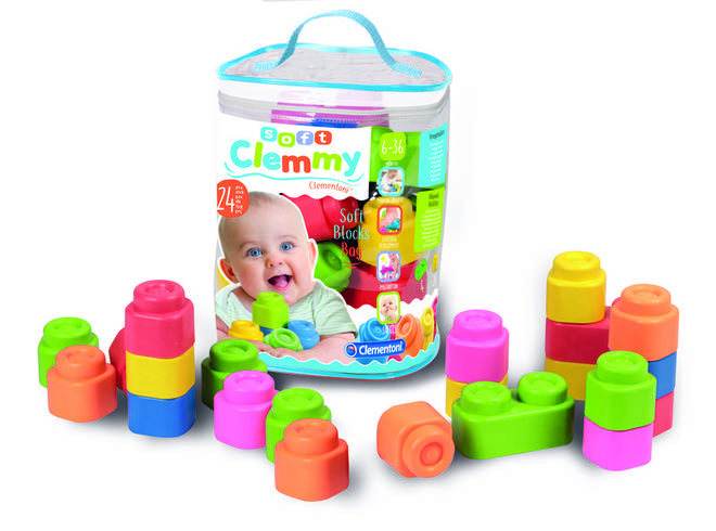 These blocks are suitable for older babies