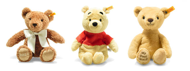 Any of these bears would be a beautiful - and treasured - present for a baby