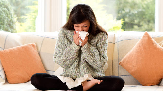 There are a lot of germs spreading this autumn