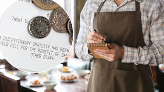 Restaurant staff will keep 100 per cent of their tips