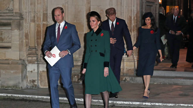 A 'rift' is reportedly causing friction between the two royal couples