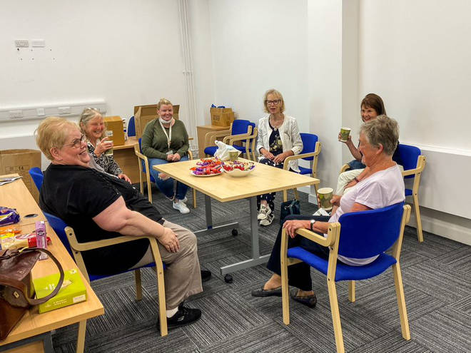 The charity supports older carers too, and helps them enjoy lighter moments