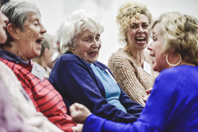The Forget-me-not Chorus helps people with dementia through the joy of song