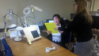 The charity offers loads of resources to help blind people feel less isolated