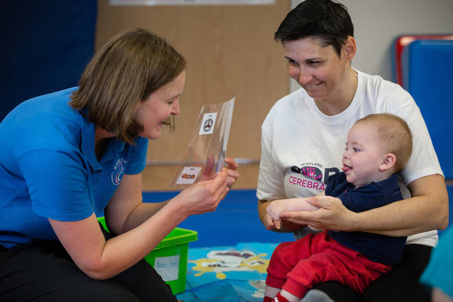 The charity advocates for people with CP and their families